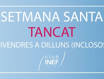 Tancament Club INEF